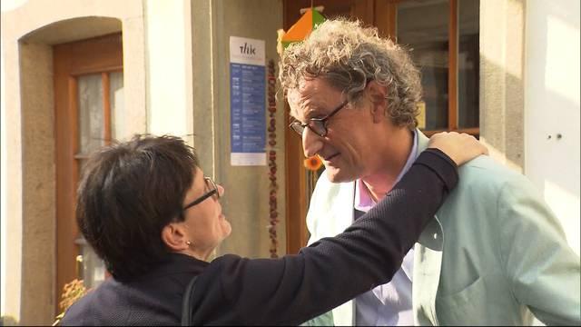 Der amtierende Stadtammann Geri Müller wurde abgewählt