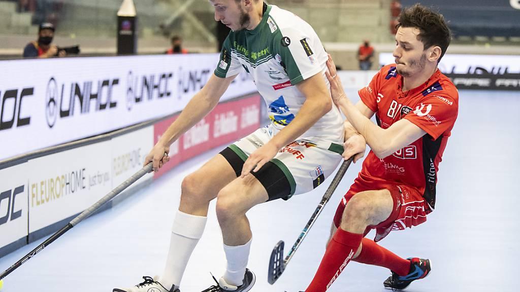 Yann Ruh (rechts) macht Wilers Marco Louis das Leben schwer