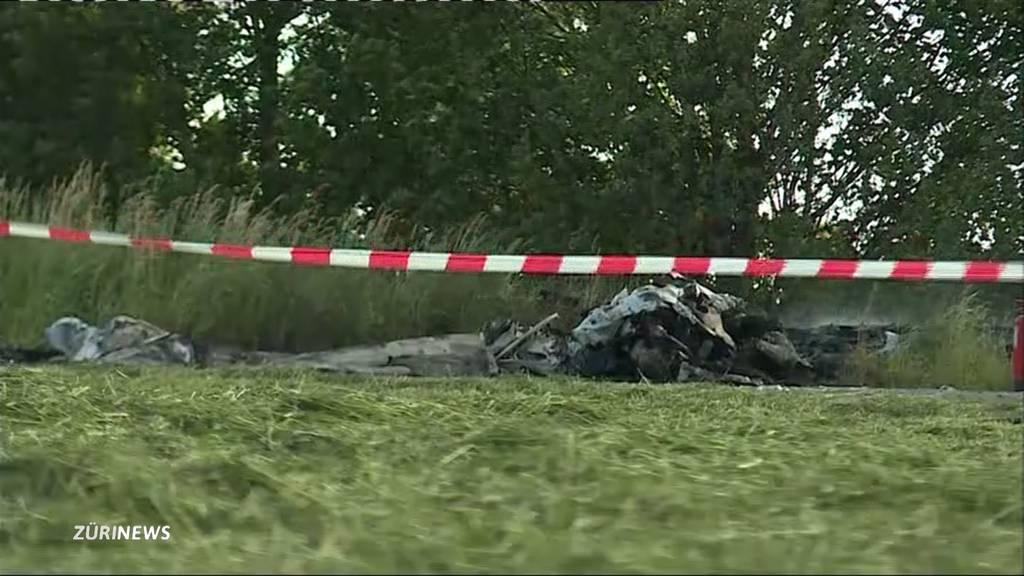 Pilot stirbt bei Flugzeugabsturz in Birrfeld