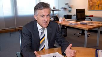 Will kein Wanderprediger sein, der mit seinem Wissen hausieren geht: Der abtretende Kantonalbank-Chef Beat Oberlin.
