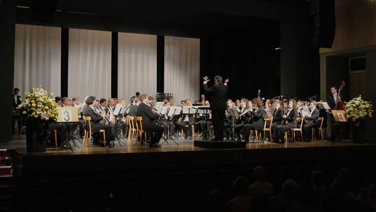 12. Musikpreis Grenchen: Die Siegerformation La Concordia Fribourg.