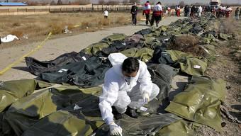 Beim Absturz eines ukrainischen Passagierflugzeugs im Iran kamen 176 Menschen ums Leben. Ein Forensiker sammelt Hinweise, die bei der Identifizierung der Leichen helfen können.