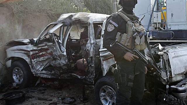 Nach dem Anschlag in Kerbela