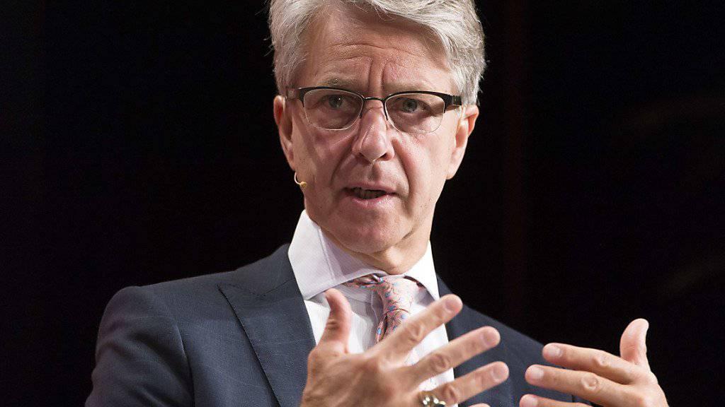 Der neue Bankiervereinigungspräsident Herbert Scheidt drängt auf eine forschere Gangart der Schweiz bei den Verhandlungen mit der EU. (Archivbild)
