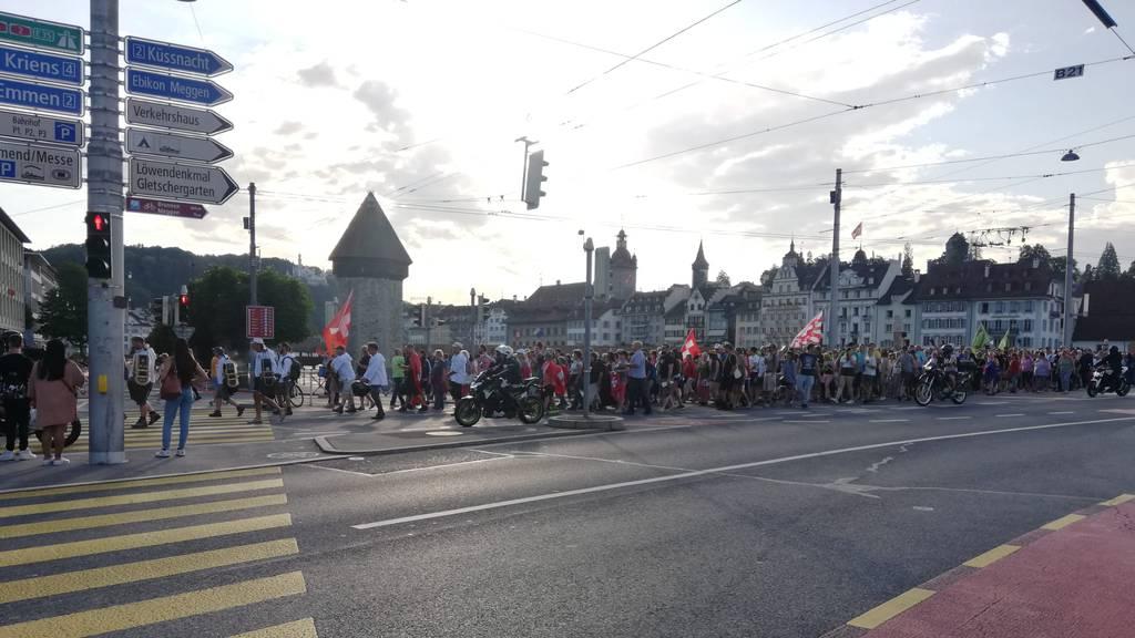 Nach Kritiker-Demo: Nun droht Strafanzeige