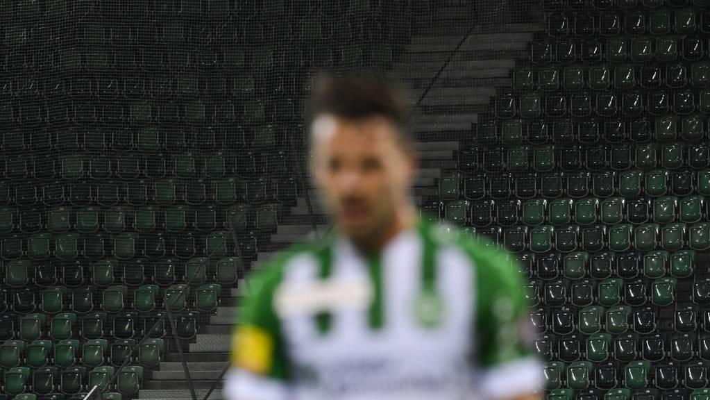 Der FC St.Gallen wird wohl noch lange ohne Publikum spielen.