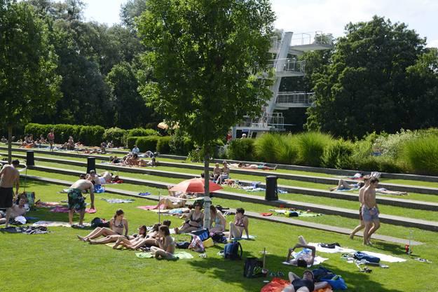 Am 10. Mai beginnt die Badesaison im Solothurner Freibad.
