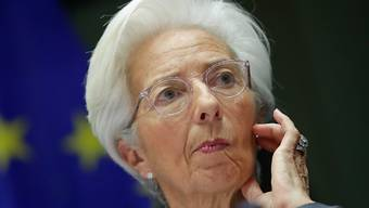 Neu steht die Europäische Zentralbank (EZB) unter der Führung von Christine Lagarde. Um 14.30 Uhr tritt sie in dieser Funktion erstmals nach einer Ratsitzung an die Öffentlichkeit. (Archivbild)