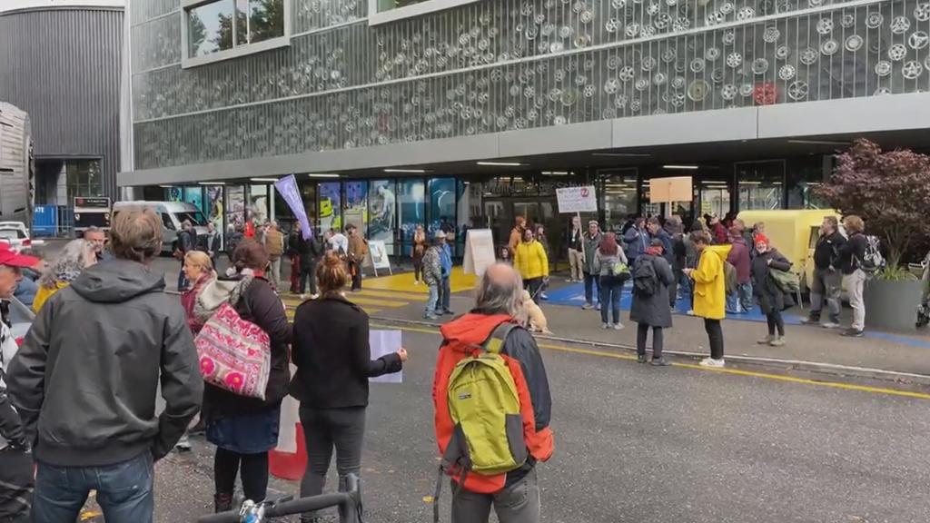 Covid-Massnahmengegner demonstrieren erneut in Bern