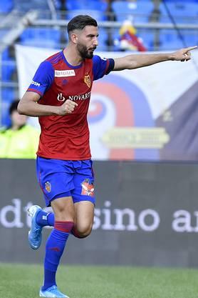 Kurz vor Schluss darf auch der frisch eingewechselte Kemal Ademi noch einnetzen. Er erzielt den dritten und letzten FCB-Treffer des Tages.
