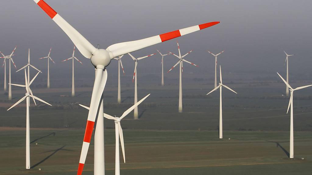 Windgeschwindigkeit an Land hat sich um rund sieben Prozent erhöht