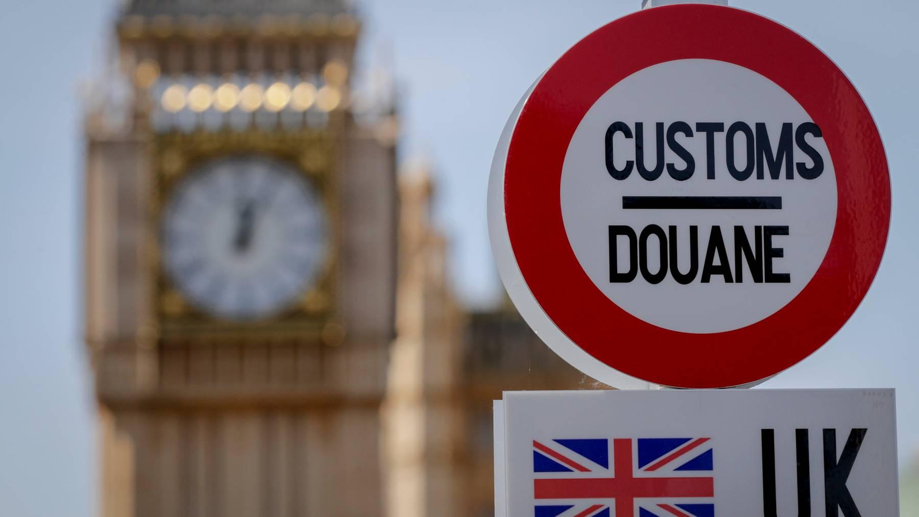 Das Abkommen Schweiz-Grossbritannien soll die Folgen des Brexit auffangen.