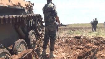 In der letzten grossen Rebellenhochburg in Syrien sind nach Uno-Angaben rund 180'000 Menschen vor der eskalierenden Gewalt in den vergangenen Wochen geflohen. (Archivbild)
