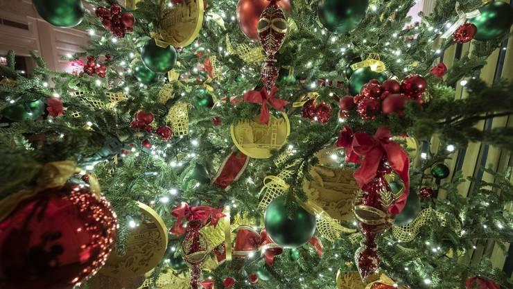Weihnachtsdekoration im Weissen Haus
