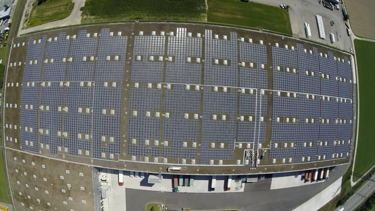 Die Solaranlage der Steinhoff Properties AG wirft laut Hochrechnungen 1.588.000 Kilowattstunden im Jahr ab.