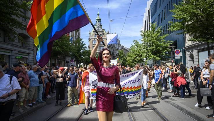 Impressionen zum Zurich Pride Festival 2019.