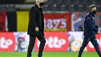 Enttäuschter Abgang: Vladimir Petkovic und die Schweiz bleiben in diesem Jahr sieglos