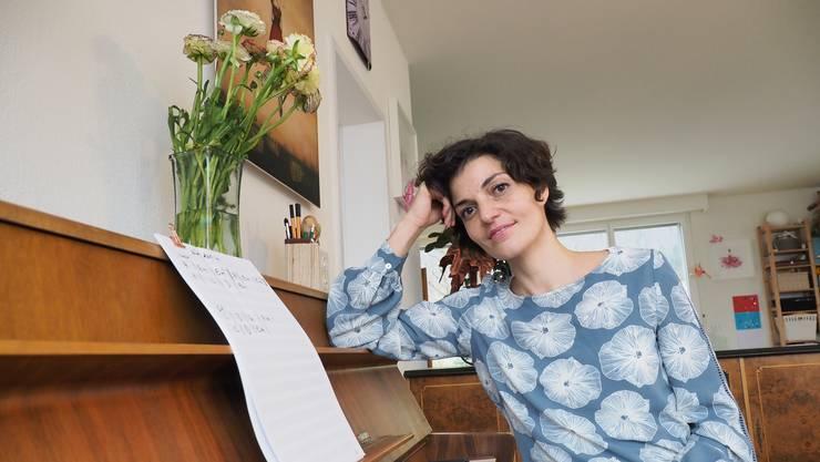 Sängerin Denise Donatsch.