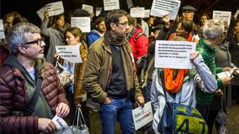 Vor allem aus der Kulturszene wird gegen die angedrohten Sparmassnahmen bei der Kultur protestiert.
