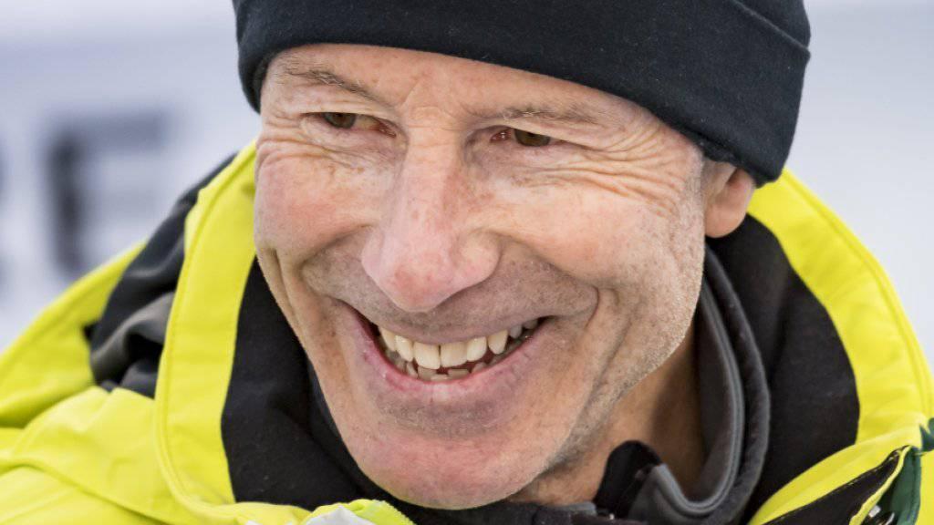 Die schwedische Ski-Legende Ingemar Stenmark