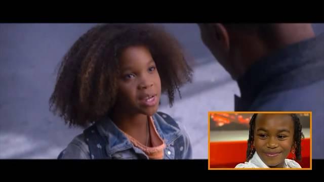 Ausschnitt aus dem US-Musicalfilm «Annie» mit der Synchronstimme von Chelsea Fontenel