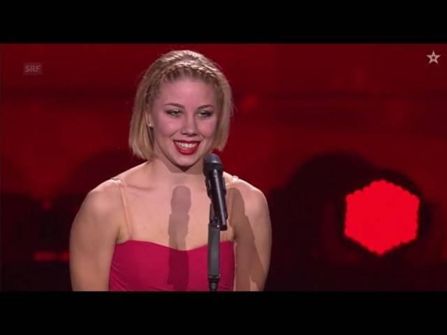 Moira Buser hat mit ihrer eigenen Choreografie die Jury von «Die grössten Schweizer Talente» begeistert.