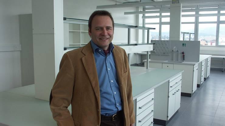 Mario Jenni - Mitgründer und Geschäftsführer Bio-Technopark Schlieren