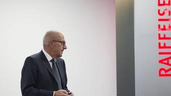 EX-Raiffeisen-CEO Pierin Vincenz wurde am Dienstag aus der U-Haft entlassen.