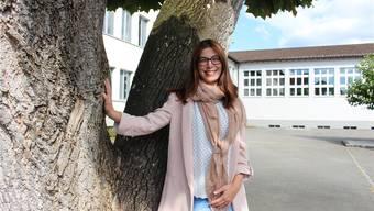 Die Oberstufe Mittleres Wynental war bisher ihr Wirkungsfeld. Jetzt übernimmt Christina Camadini das Präsidium der neuen Kreisschule aargauSüd. mei