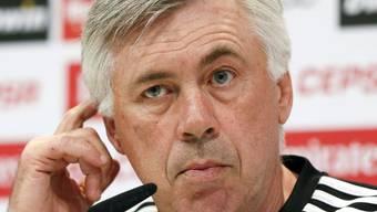 Nachdenklicher Carlo Ancelotti