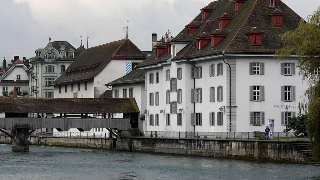 In Luzern sollen das Natur-Museum und das Historische Museum zur Gerichtsmeile umfunktioniert werden. Diese Pläne des Regierungsrats sind umstritten. (Archivaufnahme)