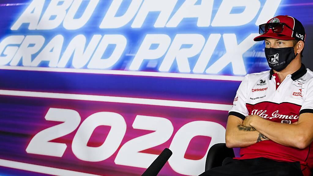 Im Grand Prix von Abu Dhabi starteten zum 500. Mal Fahrer des Teams Sauber/Alfa Romeo (hier Kimi Räikkönen) zu einem Formel-1-Rennen.