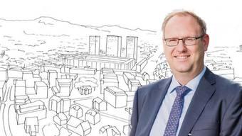 Simon Burger, Stadtratskandidat, SVP