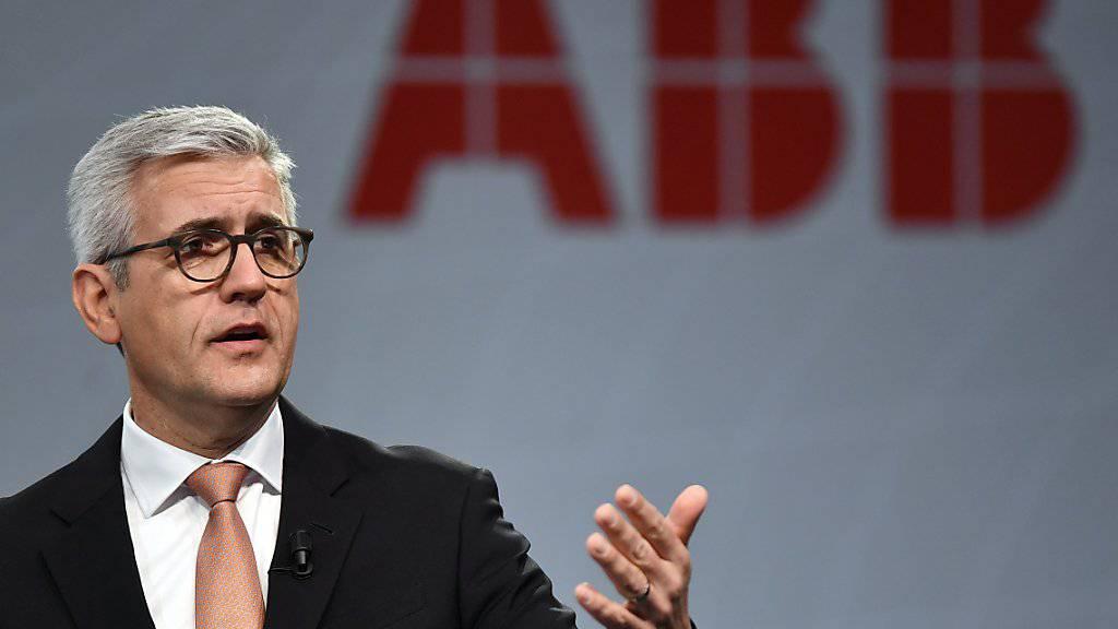 «Wir werden weiter unsere Hausaufgaben machen», sagt ABB-Chef Ulrich Spiesshofer laut Mitteilung. Im dritten Quartal seines Übergangsjahres ist ABB um 3 Prozent gewachsen.