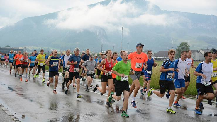 Am Wochenende fand in Oensingen der 35. Roggen-Berglauf statt.