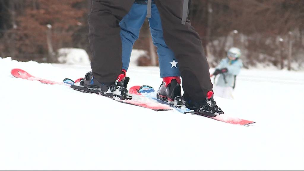 Piste frei: Das erste Mal seit zwei Jahren kann man im Aargau wieder Skifahren