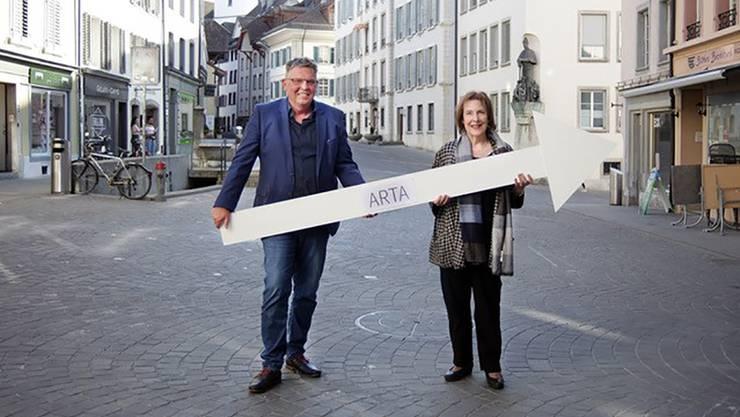 Peter-Jakob Kelting und Christine Egerszegi