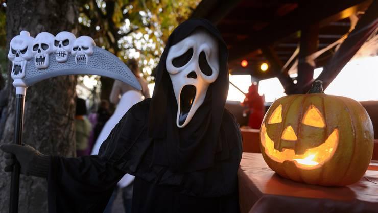 Nicht immer bleibt es an Halloween bei fröhlichem Brauchtum. (Symbolbild)