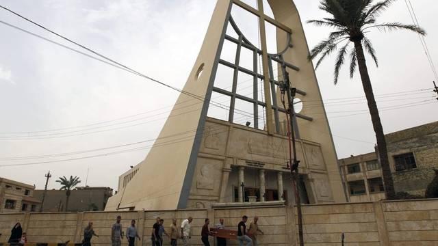 Bagdader Kirche nach der blutigen Beendigung der Geiselnahme