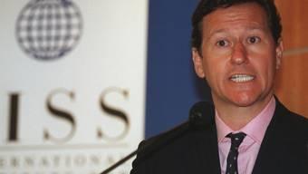 """IISS-Direktor John Chipman: """"Die Fundamente der Weltordnung erscheinen besorgniserregend schwach."""" (Archivbild)"""