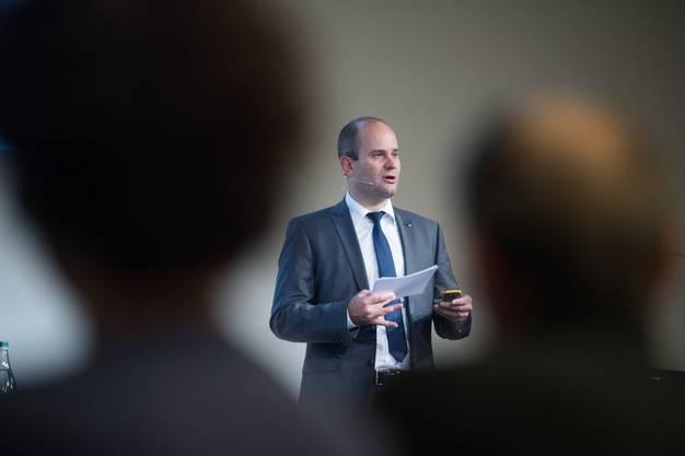 Der Luzerner Regierungsrat Fabian Peter fordert vom Bundesrat eine Exitstrategie.