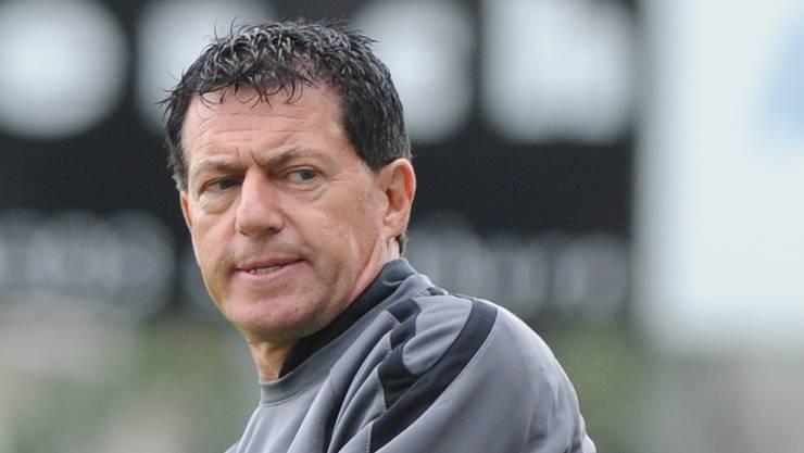 Solothurn-Trainer Roland Hasler