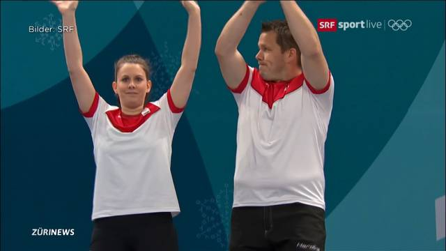 Mixed-Curler holen sich Olympia-Silber!