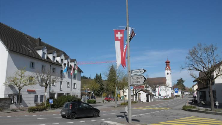 Mit einer Neugestaltung des Strassenraums soll das Zentrum von Niederwil aufgewertet werden. Toni Widmer
