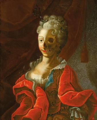 Das Werk «Vanitas» von einem deutschen Meister des 18 Jahrhundert