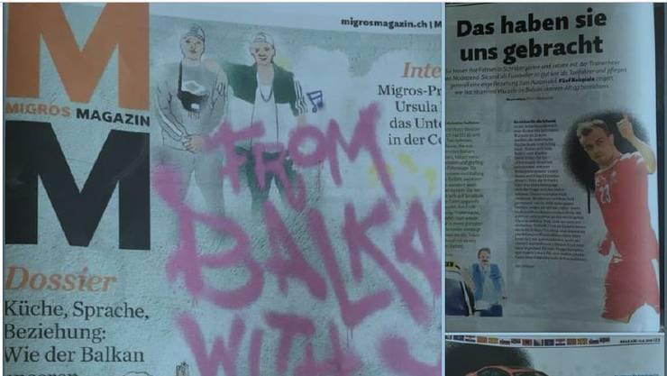 Das Migros-Magazin Nr. 25 mit dem Balkan-Schwerpunkt kam bei den betroffenen gar nicht gut an. Sie sprechen von Rassismus. Der Migros ist die Sache äusserst unangenehm.