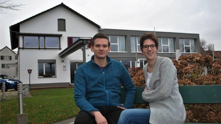Simon Hauri und Evelien Reukers übernehmen im kommenden Jahr das «Fabriggli» in Wallbach. Nadine Böni
