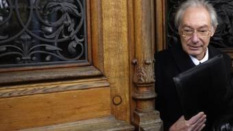 Zu acht Jahren Freiheitsstrafe verurteilt: Rolf Erb vor dem Bezirksgericht in Winterthur (Archiv)