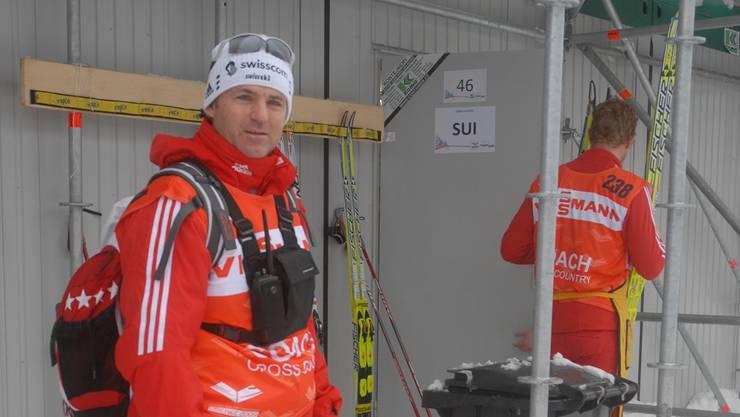 Peter Läuppi aus Beinwil am See.