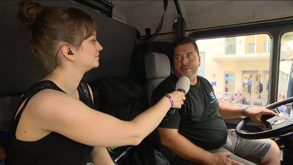 Unterwegs mit Love-Mobile-Chauffeur Roli